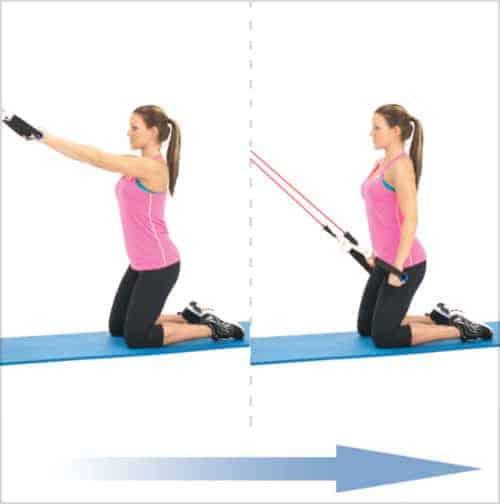 bandes élastiques musculation - Extensions latérales