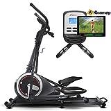 Sportstech Vélo elliptique d'Appartement CX640 Compatible Application...