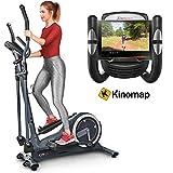 Sportstech Vélo elliptique CX625 ergomètre Compatible avec...