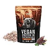 nu3 - Protéines Vegan 3K - 1kg - Chocolat - 71% de Protéines à base...