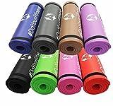 Yamuna Tapis de fitness/Extra Épais et Doux, idéal pour Pilates,...