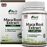 Maca Root 2500 mg - à base de racine de maca - Cure de 6 mois/180...
