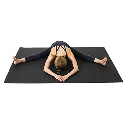 SquareFit - Grand Tapis de Yoga Haut de Gamme Confortable - 122x183cm...