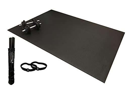 SquareFit - Tapis de Sol Fitness Extra Large | 122x183cm épaisseur...