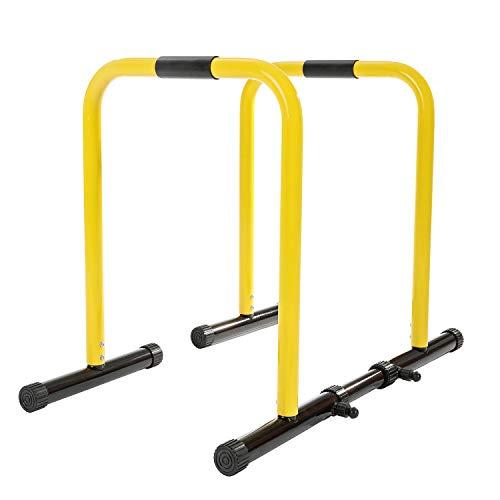 RELIFE REBUILD YOUR LIFE Station De Musculation Réglable Push Up Dip...