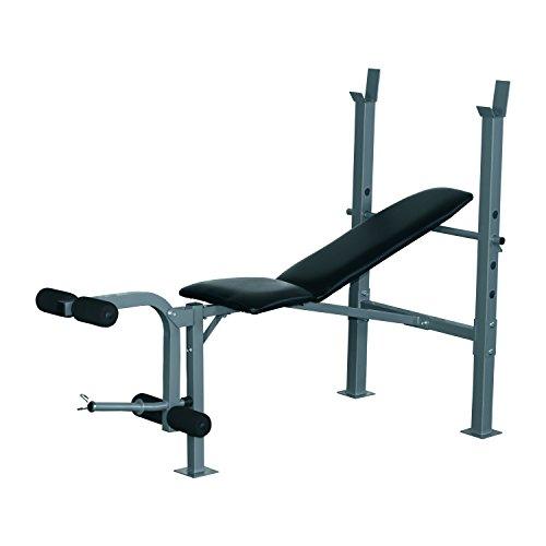 HOMCOM Banc de Musculation Fitness Entrainement Complet Dossier...