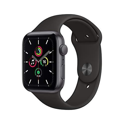 Apple WatchSe (GPS, 44 mm) Boîtier en Aluminium Gris sidéral,...