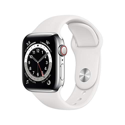 AppleWatch Series6 (GPS+ Cellular, 40 mm) Boîtier en Acier...