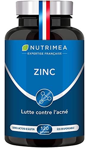 ZINC Citrate - Traitement de l'acné - Soutient le système...