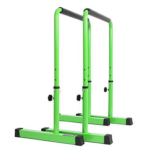 POWER GUIDANCE Barres Dip Traction Ajustable/Pompe Gymnastique/Barres...