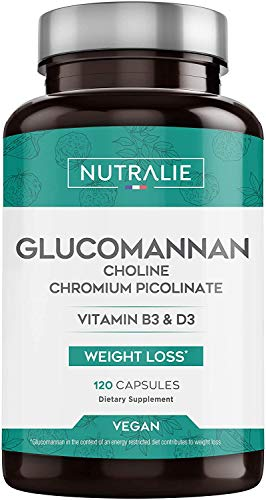 Konjac Glucomannane 3.000mg par dose | Aide Minceur et Coupe-Faim 100%...