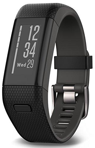 Garmin Vívosmart HR+ - Bracelet de Fitness avec GPS et Cardio...