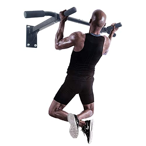 ISE Barre de Tractions, Barre de Fitness Fixation Murale Plafond...