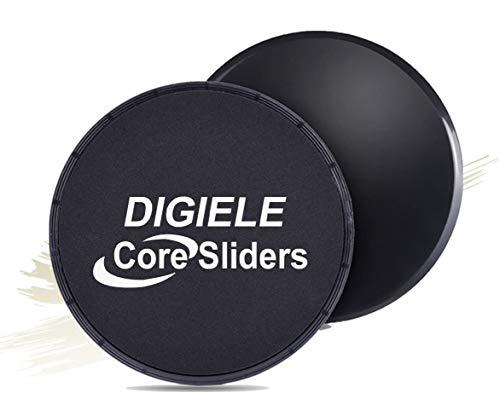 DigiELE Core Sliders - disques de Glisse à Double Face pour Tapis et...