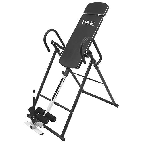 ISE Table d'Inversion Musculation Planche d'inversion Pliable/Gravity...