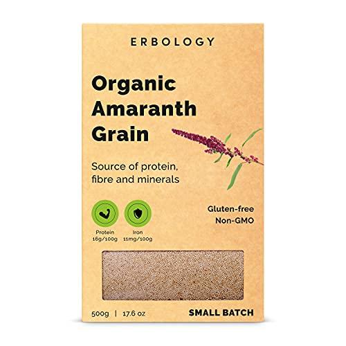 Graines d'Amarante Bio 500g - Sans Gluten - Protéines de Qualité...