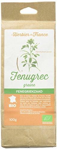 Fenugrec Graines Bio Sachet Kraft 100 g