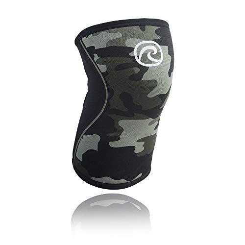 Rehband Bandage genou en néoprène Vert - Coumouflage , m
