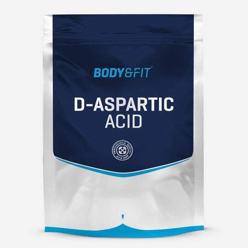 BODY & FIT Acide D-aspartique - sachet de 200 grammes