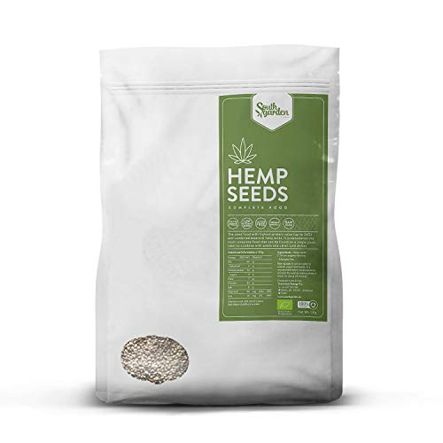 Graines de Chanvre BIO - Hemp Seeds 1 Kg   SOUTH GARDEN   30% de...
