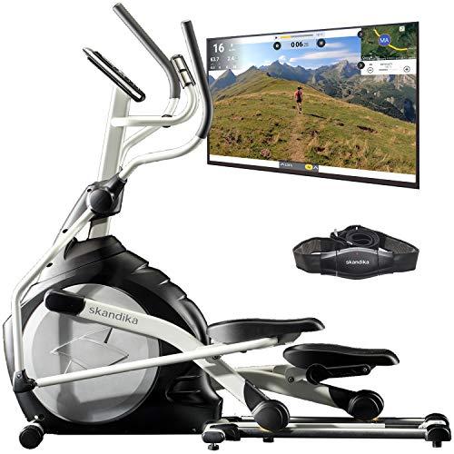 skandika CardioCross Carbon Pro - Vélo elliptique - Masse d'inertie:...