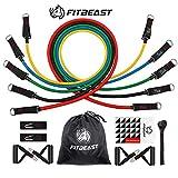 FitBeast Bandes de Résistance d'exercice, Kit de Bandes D'étirement...
