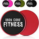 Iron Core Fitness - Lot de 2 disques de fitness glissants double face...