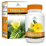 Tribulus Terrestris - 1300mg - Avec 45% de Saponine - Puissance et...