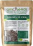 Graines de Chia Bio 1KG | Protéines, Digestion, Oméga 3 | Qualité...