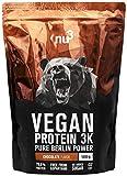 nu3 Protéines Vegan 3K 1kg - Chocolat - 71% de Protéines à base de...