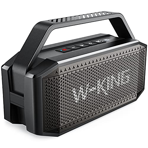 Enceinte Bluetooth, W-KING 60W Portable Bluetooth Speaker - Basse...
