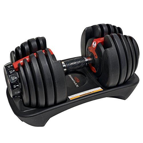 Haltère compact à charge variable Bowflex SelectTech 552i (prix pour...