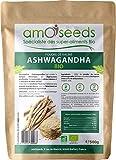 Ashwagandha en Poudre Bio - 5% withanolides - Qualité Supérieure -...