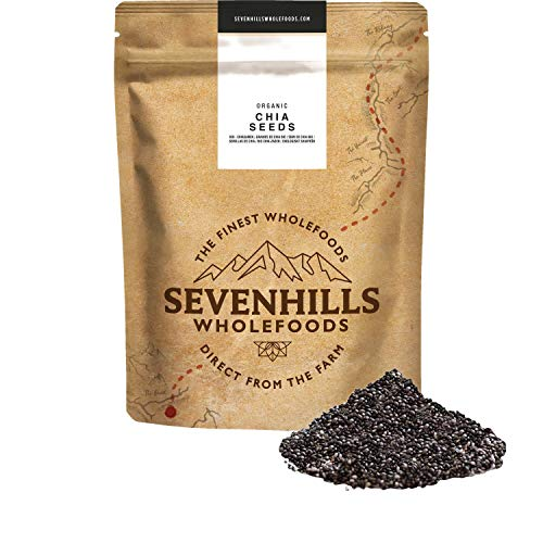 Sevenhills Wholefoods Graines De Chia Cru Bio (1kg)