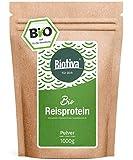 protéine de riz bio (1 kg) - 100% pure organique - végétalien sans...