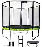 Kangui - Trampoline de Jardin Rond 305 cm + Filet + échelle + bâche...