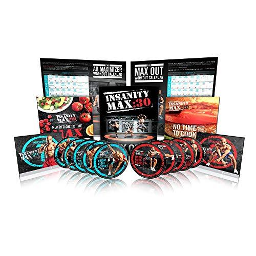 Insanity Max de Shaun T: 30kits de base - DVD d'entraînement...