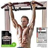 Sportstech Barre de Traction Fixation Plafond KS400 Musculation...