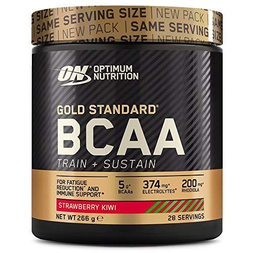 Optimum Nutrition Gold Standard BCAA, Acides Aminés en Poudre,...