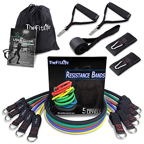 TheFitLife 150lbs Elastique Musculation - Bande Elastique Fitness de...