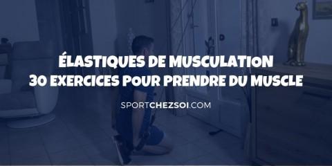 Bandes élastiques musculation ✅ 30 exercices pour prendre du muscle