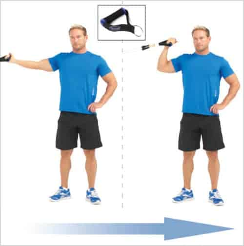 Exercice biceps - Curl concentré biceps Bodylastics