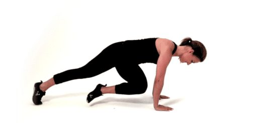 maigrir du ventre sans équipement - Cross body knee