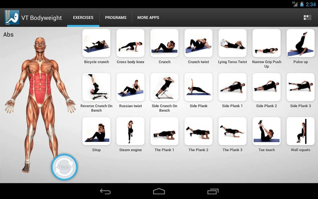 VT Bodyweight - Programme fitness débutant