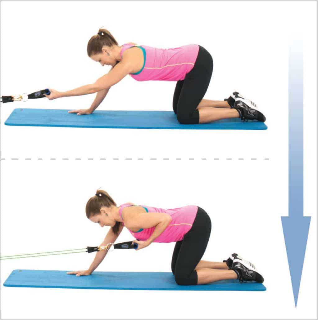 Exercice musculation dos - Tirage latéral avec un bras
