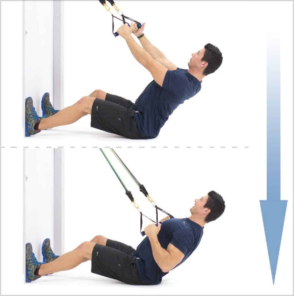 Exercice musculation dos - Rowing assis