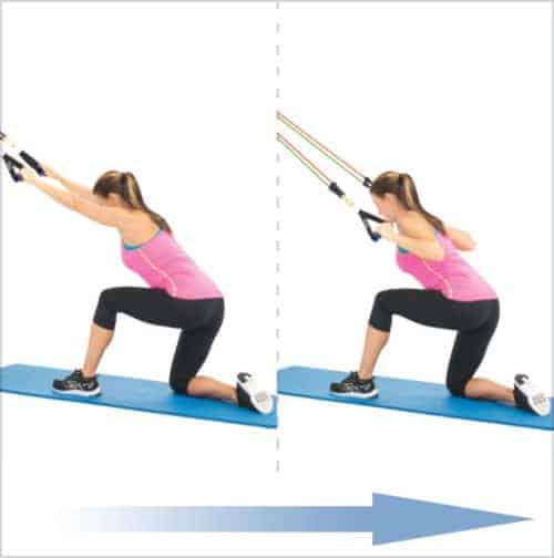 bandes élastiques musculation -Tractions prise large
