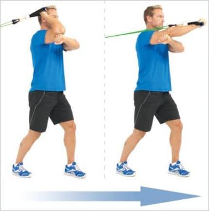 matériel sport maison - bandes élastiques de musculation
