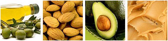 Sources de graisses pour la nutrition sportive