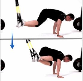 Exercice TRX - oblique crunch trx